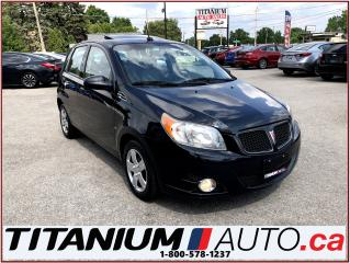 Used 2009 Pontiac G3 Hatch Back-Sunroof-A/C-Keyless Entry-Power Group-- for sale in London, ON