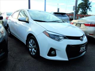 Used 2014 Toyota Corolla S | AUTO | ONE OWNER | BACK UP CAMERA for sale in Kitchener, ON