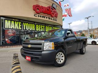 Used 2011 Chevrolet Silverado 1500 W/T LOW KMS AIR CONDITIONING 1 OWNER VEHICLE for sale in Scarborough, ON