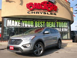 Used 2016 Hyundai Santa Fe XL Luxury NAVI R-CAM PANO ROOF AWD COOLED SEATS for sale in Toronto, ON