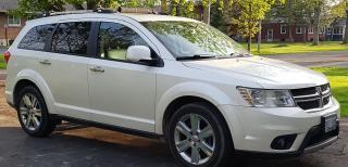 Used 2013 Dodge Journey Metallic White for sale in Ridgeway, ON