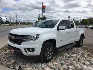 Used 2015 Chevrolet Colorado 4WD * LEATHER/CLOTH * NAV * Rear CAM * Heated Seats * BED Liner * Crew CAB for sale in London, ON