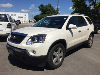 Used 2010 GMC ACADIA SLT * AWD * LEATHER * NAV * REAR CAM * 7 PASS for sale in London, ON