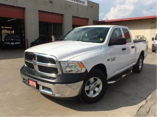 Used 2015 RAM 1500 SXT**Hemi**4X4**Bench Seat**Only 35, 474 KM** for sale in Mississauga, ON