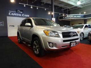 Used 2010 Toyota RAV4 SPORT V6 / 4WD / SUNROOF for sale in North York, ON