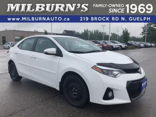 Used 2015 Toyota Corolla S for sale in Guelph, ON