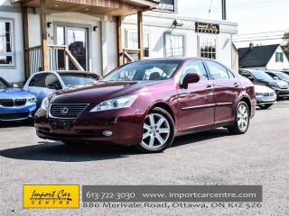 Used 2007 Lexus ES 350 LEATHER NAV BACKUP CAMERA WOW!! for sale in Ottawa, ON