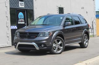 Used 2017 Dodge Journey Crossroad*NAV*DVD*7 Pass*Sunroof*Leather*ULTRA CLE for sale in Mississauga, ON