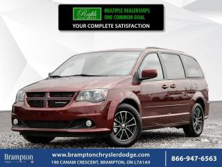 Used 2017 Dodge Grand Caravan GT | 6.5 INCH TOUCHSCREEN | for sale in Brampton, ON
