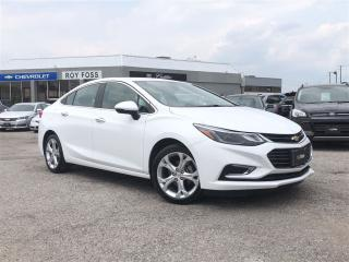 Used 2017 Chevrolet Cruze Premier Tech Pkg Nav Sunroof Rear Camera for sale in Thornhill, ON