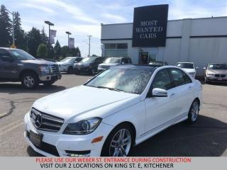 Used 2014 Mercedes-Benz C350 4matic NAVIGATION | BLIND | CAMERA | DUAL ROOF for sale in Kitchener, ON
