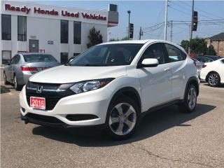 Used 2016 Honda HR-V LX AWD - Rear Camera - Heated Seats for sale in Mississauga, ON