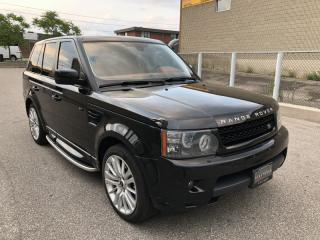Used 2010 Land Rover Range Rover Sport HSE I LUX I NAVIGATION I BACK-UP for sale in North York, ON