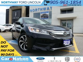 Used 2016 Honda Accord LX | TOUCH SCREEN | HEATED SEATS | REAR CAM | for sale in Brantford, ON
