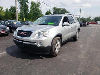 Used 2008 GMC Acadia AWD Leather sunroof safetied 175k SLT1 for sale in Madoc, ON