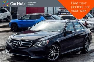 Used 2015 Mercedes-Benz E-Class E 400|DriverAsst.,Pk.Asst.Pkgs|Sunroof|Nav|SurroundCam|18