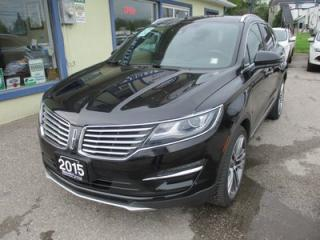 Used 2015 Lincoln MKC LOADED AWD 5 PASSENGER 2.3L - ECO-BOOST.. LEATHER.. HEATED/AC SEATS.. NAVIGATION.. SUNROOF.. BACK-UP CAMERA.. HEATED STEERING WHEEL.. for sale in Bradford, ON