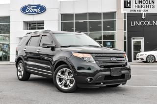 Used 2015 Ford Explorer Limited 4WD for sale in Ottawa, ON