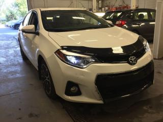Used 2016 Toyota Corolla S for sale in Saint-constant, QC