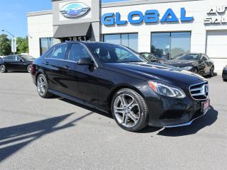 Used 2015 Mercedes-Benz E-Class E400 Luxury 4MATIC Sedan NAVIGATION PANOR ROOF for sale in Gloucester, ON