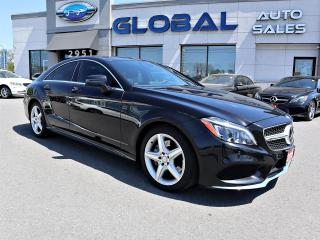 Used 2015 Mercedes-Benz CLS-Class CLS400 CLS400 4MATIC AMG SPORT  PKG. NAV 360 CAM LOW KM. for sale in Gloucester, ON