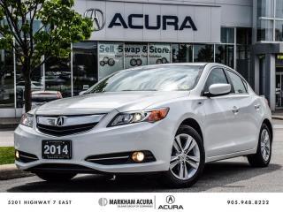 Used 2014 Acura ILX Hybrid CVT - Hybrid, Gas Saver! for sale in Markham, ON