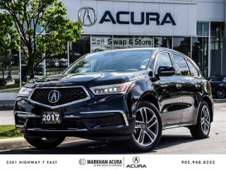 Used 2017 Acura MDX Navi - Blind Spot Indicators | Power Liftgate for sale in Markham, ON