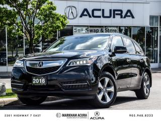 Used 2016 Acura MDX at - SH-AWD | 3.5L V6 290HP for sale in Markham, ON
