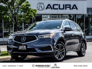 Used 2017 Acura MDX Navi - Blind Spot Indicators | Rearview Camera for sale in Markham, ON