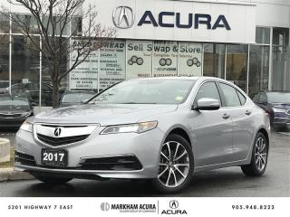 Used 2017 Acura TLX 3.5L SH-AWD w/Tech Pkg Navi, Backup Cam, BSM, 290HP for sale in Markham, ON