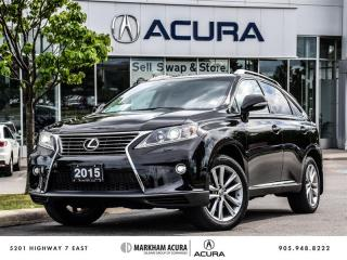 Used 2015 Lexus RX 350 6A - SportDesign, All Wheel Drive for sale in Markham, ON
