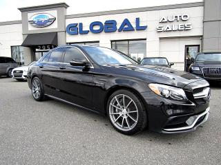 Used 2016 Mercedes-Benz C63 AMG AMG Sedan LOADED , 469 HP. for sale in Gloucester, ON