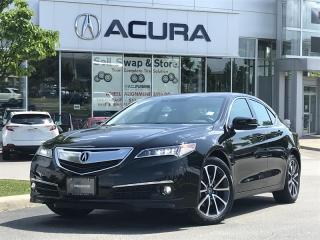 Used 2016 Acura TLX 3.5L SH-AWD w/Elite Pkg - Parking Sensors | Ventilated Seats for sale in Unionville, ON