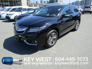 Used 2017 Acura RDX Elite Pkg AWD Sunroof Leather Nav Cam Heated Seats for sale in New Westminster, BC