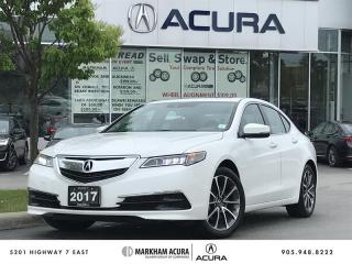 Used 2017 Acura TLX 3.5L SH-AWD w/Tech Pkg Navi, Backup Cam, BSM, Heated Seats for sale in Markham, ON