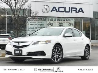 Used 2017 Acura TLX 3.5L SH-AWD V6 290HP, Backup Cam, Heated Seats, Pwr Roof for sale in Markham, ON