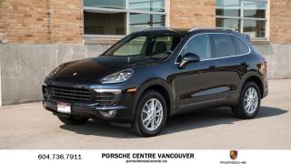 Used 2018 Porsche Cayenne w/ Tip for sale in Vancouver, BC