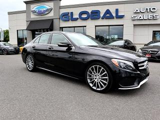 Used 2015 Mercedes-Benz C-Class C400 4MATIC AMG PKG. NAVIGATION PANOR ROOF MORE... for sale in Gloucester, ON