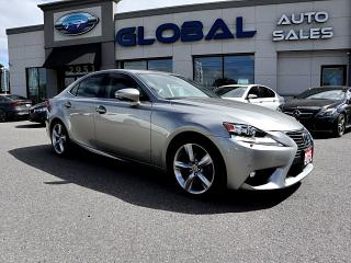 Used 2015 Lexus IS 350 AWD EXECUTIVE PKG. ONLY 26 K  LEATHER NAVIGATION for sale in Ottawa, ON
