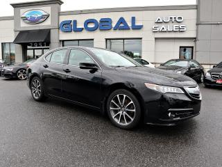 Used 2015 Acura TLX SH-AWD ELITE  w/Advance Package for sale in Gloucester, ON