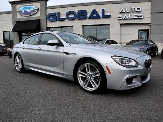 Used 2015 BMW 6 Series 640i xDrive GRAN COUPE M-SPORT ALL OPTIONS. for sale in Ottawa, ON