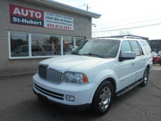 Used 2005 Lincoln Navigator 4X4 7 PLACES ** NAVIGATION/GPS ** for sale in Saint-hubert, QC