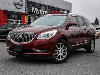 Used 2015 Buick Enclave reverse camera, leather, heated seats and steering wheel, electric seats, Bluetooth, tilt steering, sunroof for sale in Orleans, ON