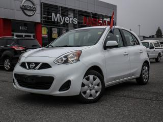 Used 2015 Nissan Micra SV Bluetooth, CD, power locks, power windows, cruise control for sale in Orleans, ON