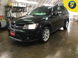 Used 2014 Dodge Journey R/T*AWD*7 PASSENGER*NAVIGATION*DVD*SUNROOF*BACK UP CAMERA W/PARK ASSIST*8.4 INCH U CONNECT TOUCH SCREEN HANDS FREE STEERING WHEEL CONTROL/VOICE RECOGN for sale in Cambridge, ON