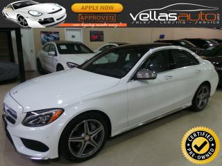 Used 2015 Mercedes-Benz C-Class C400| 4MATIC| AMG STYLING PKG for sale in Woodbridge, ON