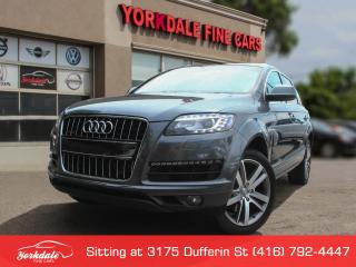 Used 2013 Audi Q7 3.0T Premium 7 Passengers. Panoramic. Navigation. for sale in Toronto, ON