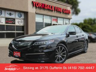 Used 2015 Acura TLX Tech SH AWD Aero Pkg. Navigation . Camera. Leather. Roof for sale in Toronto, ON
