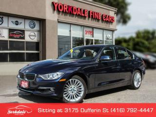 Used 2015 BMW 328i xDrive Luxury Line. Navigation.  360 Camera. Blue On Brown for sale in Toronto, ON