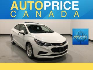 Used 2017 Chevrolet Cruze LT Auto BACK UP CAM|MOONROOF|HEATED SEATS for sale in Mississauga, ON